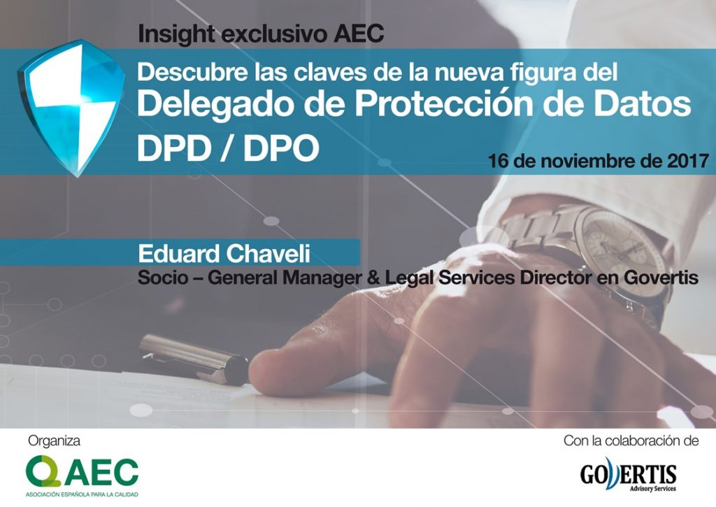 Las Claves del DPD por Eduard Chaveli