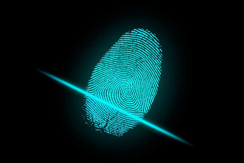 Huella dactilar - datos biometricos
